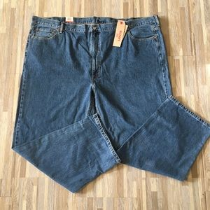 Levis 550 Mens Relaxed Red Tab Jeans 56X32
